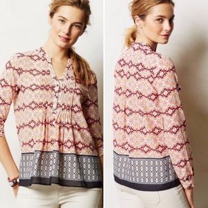 HD In Paris Kaveri Pin Tucked Pink/peach Popover
